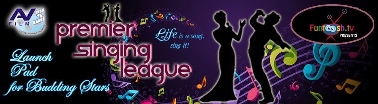 Premier Singing League - Life is a song, sing it! Contest Bollywoodhunts.com